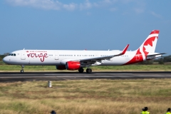 Air Canada Rouge Airbus A321 Tocumen Open Day 2020