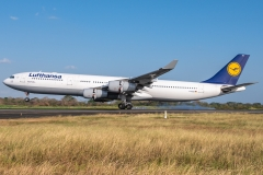 Lufthansa Airbus A340 D-AIGS Tocumen Open Day 2020