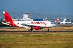 Avianca Ecuador (Aerogal) Airbus A319 Tocumen Open Day 2020