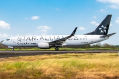 Copa Airlines Boeing 737 Star Alliance HP-1823CMP Tocumen Open Day 2020