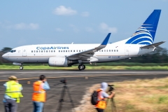 Copa Airlines Boeing 737 HP-1521CMP Tocumen Open Day 2020