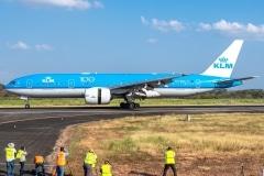 KLM Royal Dutch Airlines Boeing 777 PH-BQC Tocumen Open Day 2020