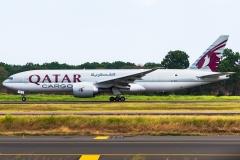 Qatar Airways Cargo Boeing 777 Tocumen Open Day 2020