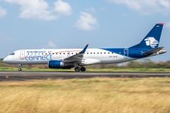 Embraer 190 Aeromexico Connect XA-ACE Tocumen Open Day 2020