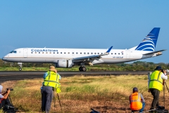 Embraer 190 Copa Airlines HP-1561CMP Tocumen Open Day 2020