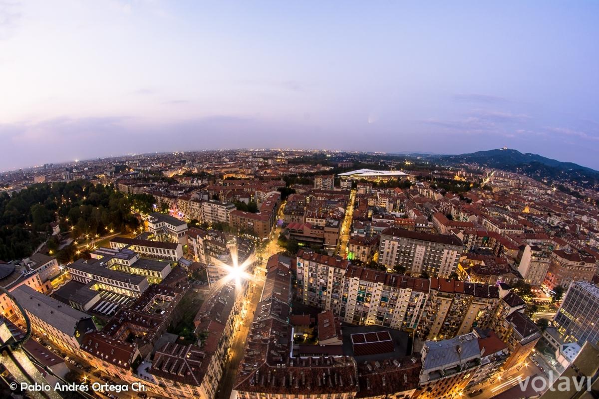 Vista Mole Antonelliana - Torino - Vacaciones Cortas en Turín