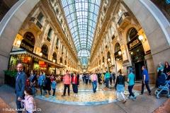 Galleria Vittorio Emanuele II - Milán - Italia