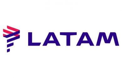 Logo de LATAM Airlines.