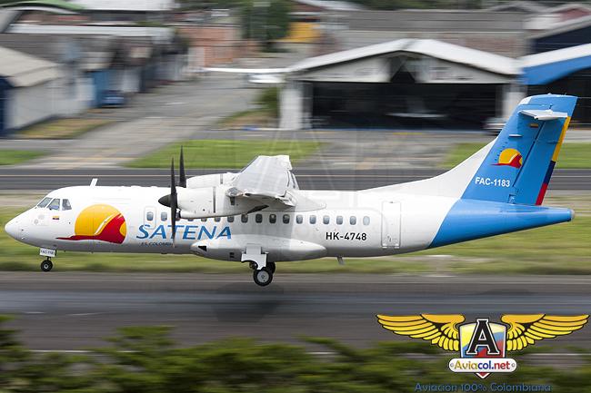 ATR 42-500 de Satena