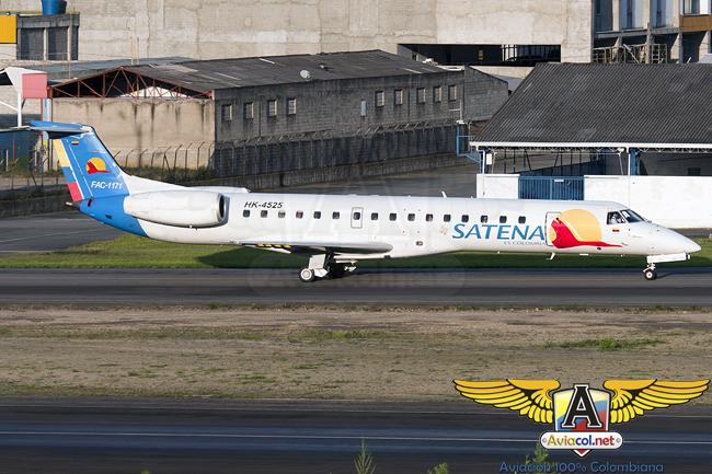 Embraer ERJ-145 de Satena