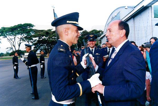 Juramento de Bandera Curso 79 de Oficiales