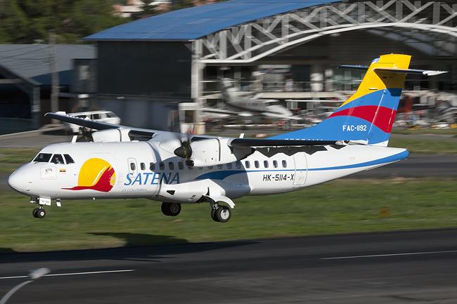 ATR 42-600 de Satena.
