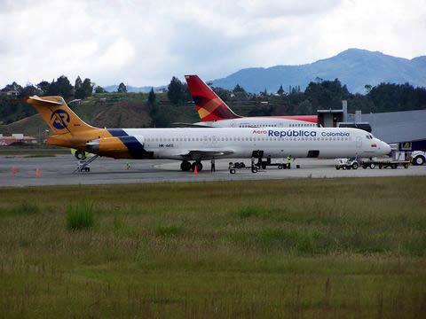 Operación del aeropuerto el día de la llegada del Airbus A380.