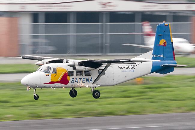 Harbin Y-12 de Satena.