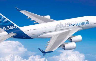 Prototipo del Airbus A380 Plus.