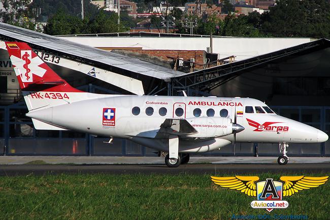British Aerospace Jetstream 32 en el Aeropuerto Olaya Herrera de Medellín