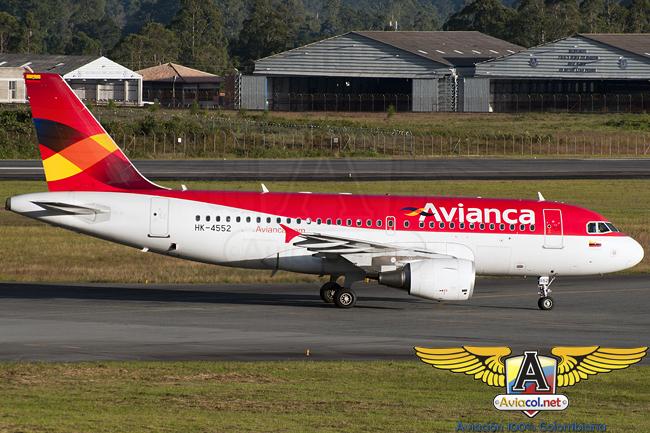 Airbus A319 de Avianca