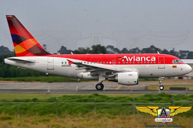 Airbus A318 de Avianca