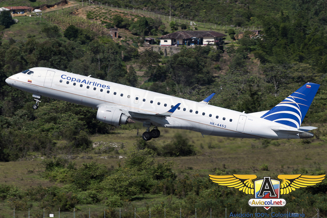 Embraer 190 de Copa Airlines Colombia