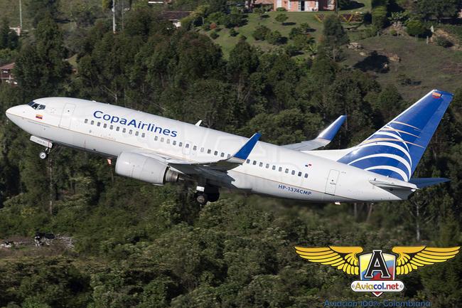 Boeing 737-700 de Copa Airlines Colombia