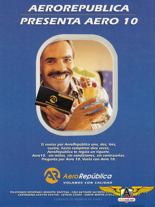 Publicidad Aero República