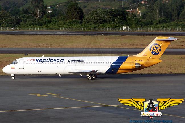 McDonnell-Douglas DC-9-30 de Aero República.