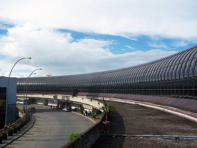 Vista hacia el norte estructura Aeropuerto José María Córdova