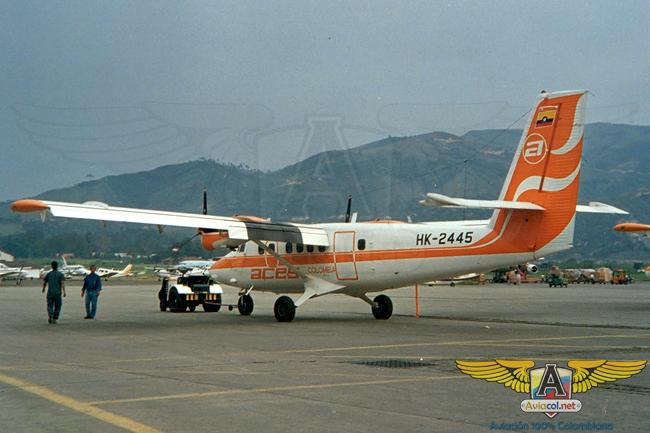 HK-2445 - Aviacol.net El Portal de la Aviación Colombiana