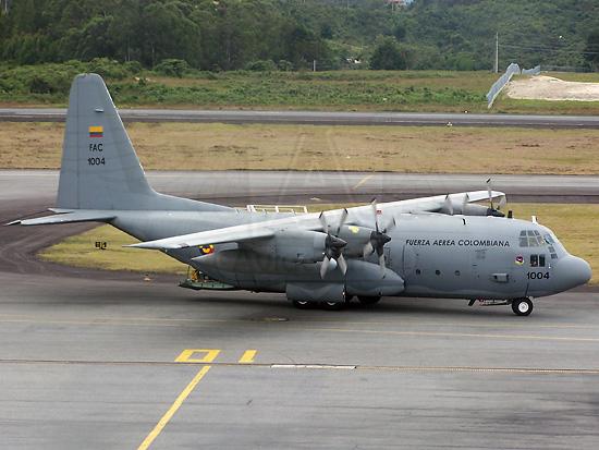 Lockheed C-130H Hercules de la FAC en SKRG