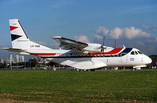 CASA CN-235 versión civil de Austral - Argentina
