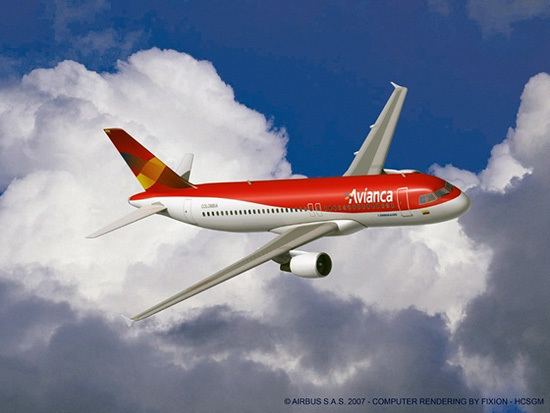 Render A320 de Avianca