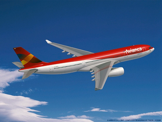 Render A330-200 de Avianca