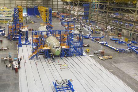 Boeing 787 Dreamliner Ensamblaje Final