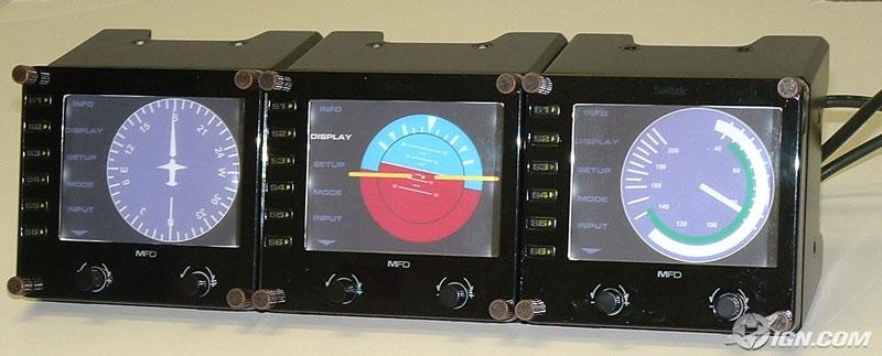 Saitek LCD Display - Aviacol.net