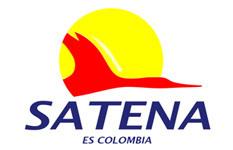 Logo Satena - Aviacol.net Aviación 100% Colombiana