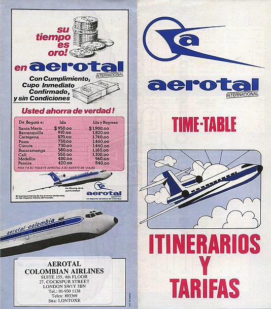 Itinerarios Internacionales Aerotal