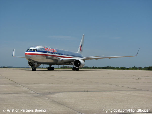 American Airlines Boeing 767 Winglets