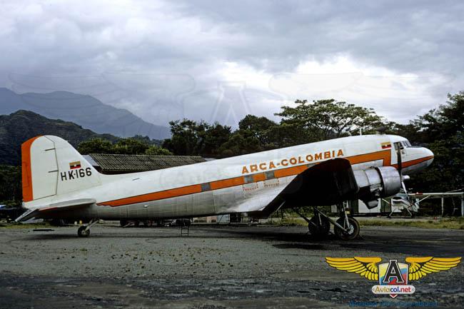 DC-3 Arca - Aviacol.net El Portal de la Aviación Colombiana