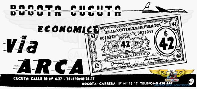 Publicidad Arca - Aviacol.net El Portal de la Aviación Colombiana