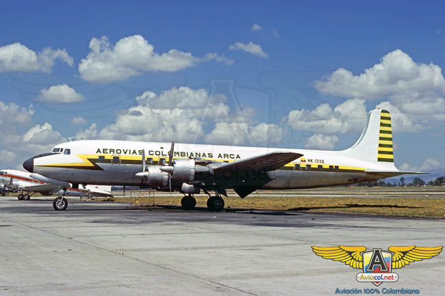 DC-6 Arca - Aviacol.net El Portal de la Aviación Colombiana