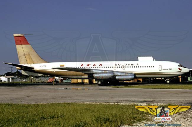 707 Arca - Aviacol.net El Portal de la Aviación Colombiana