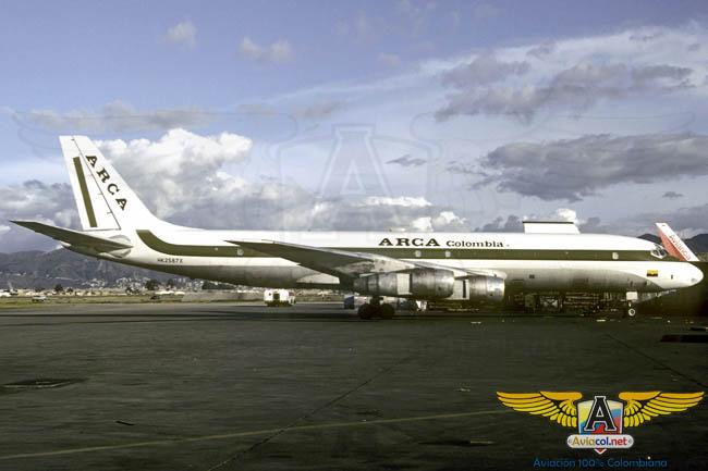 DC-8 Arca - Aviacol.net El Portal de la Aviación Colombiana