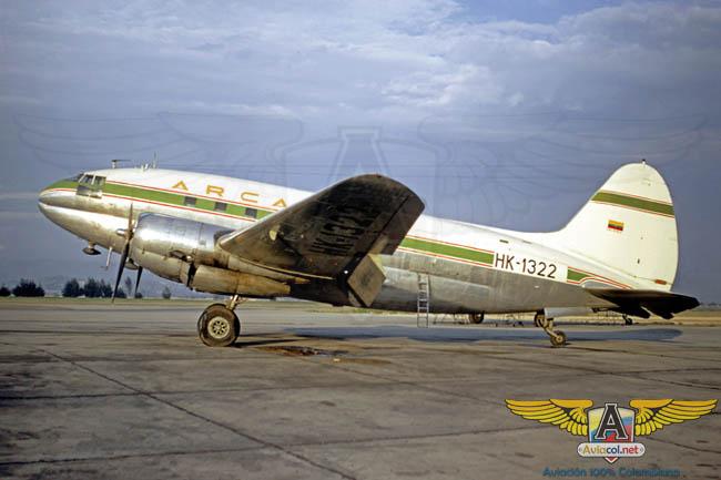 C-46 Arca - Aviacol.net El Portal de la Aviación Colombiana