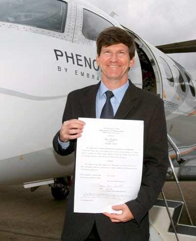 Phenom 100 Certificación FAA