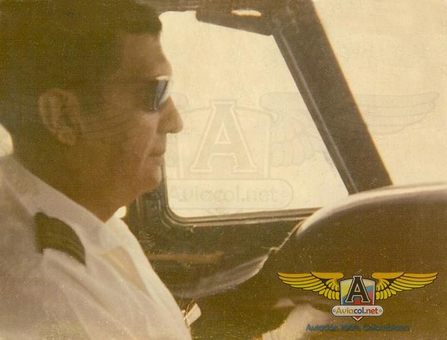 Capitán Germán Olarte Volando