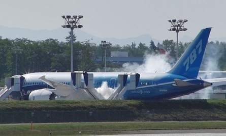 Boeing 787 Dreamliner Primer Encendido de Motor - Liz Matzelle