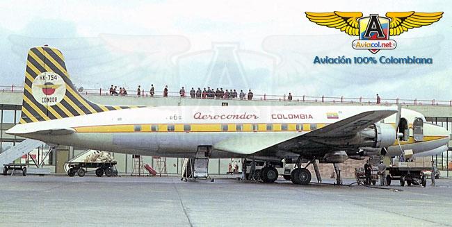 HK-754 Douglas DC-6, en Eldorado