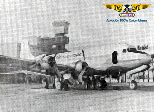 HK-757 Douglas DC-4, en Eldorado