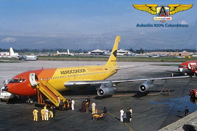 HK-1974 Boeing 720-B, en Eldorado