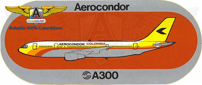 Aerocóndor A300 Sticker